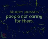 Money passes people