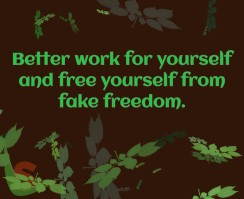 Better work for yourself