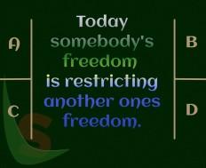 Restricting